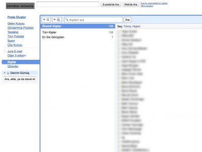 Gmail Adress Book