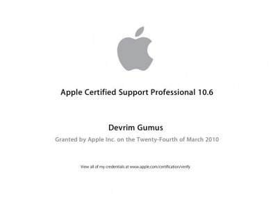 Apple Certified Support Professional 10.6